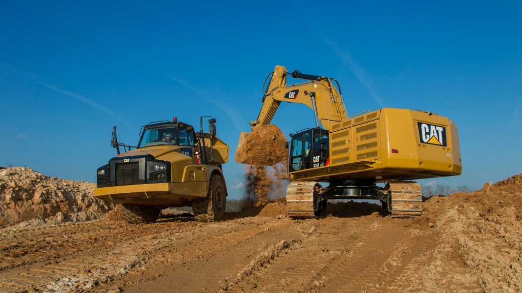 Caterpillar Equips More Excavators with Cost-Saving Cat Connect Technology