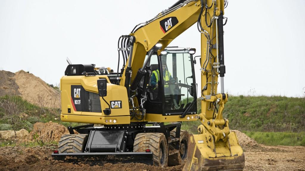 Cat M315F & M317F Wheeled Excavators Deliver Job Site Agility