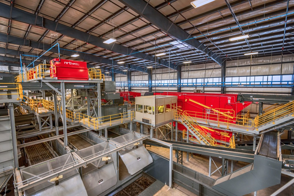 Penn Waste's single stream recycling system in Manchester, PA, supplied by BHS,  is expected to be operational in August of 2017,  increasing throughput to more than 45 tph and improving material purity.