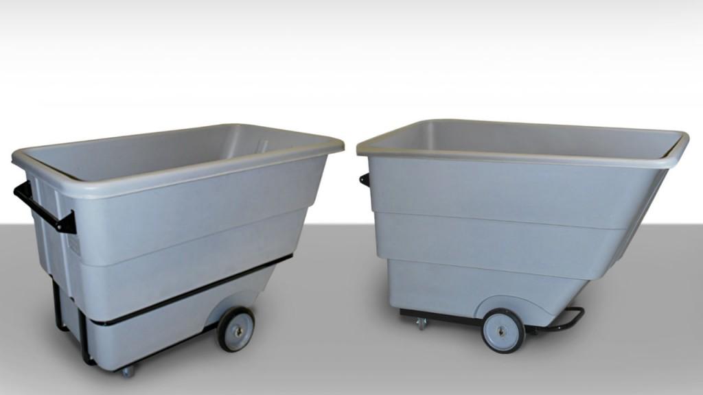 Recycling Cart Manufacturer Unveils Tilt Truck Line in HDPE Plastic