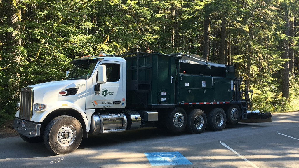 Tier 4 engine powers paver truck and meets emissions regulations