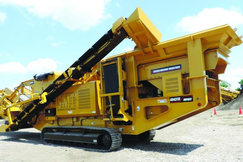 Screen Machine Industries, Inc. - 4043TR Track Mounted Impact Crushers
