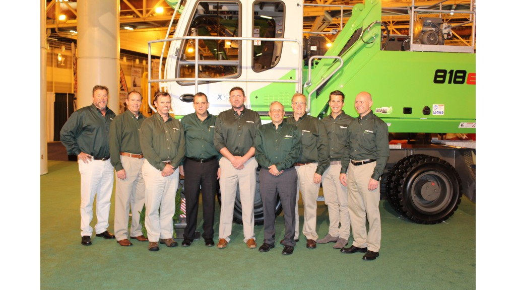 Bramco repeats as Sennebogen Distributor of the Year