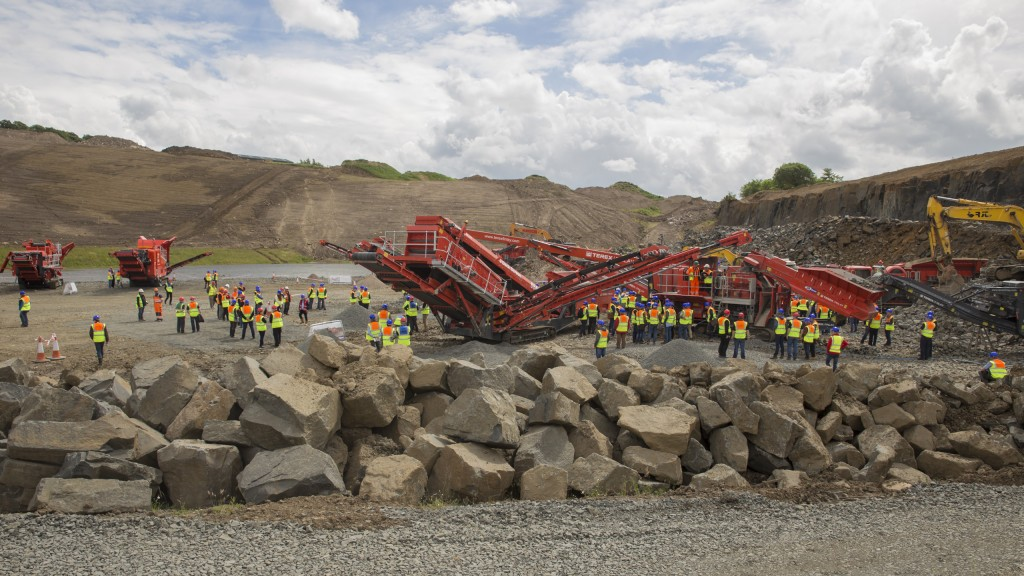 Terex|Finlay hosts open day in Edinburgh