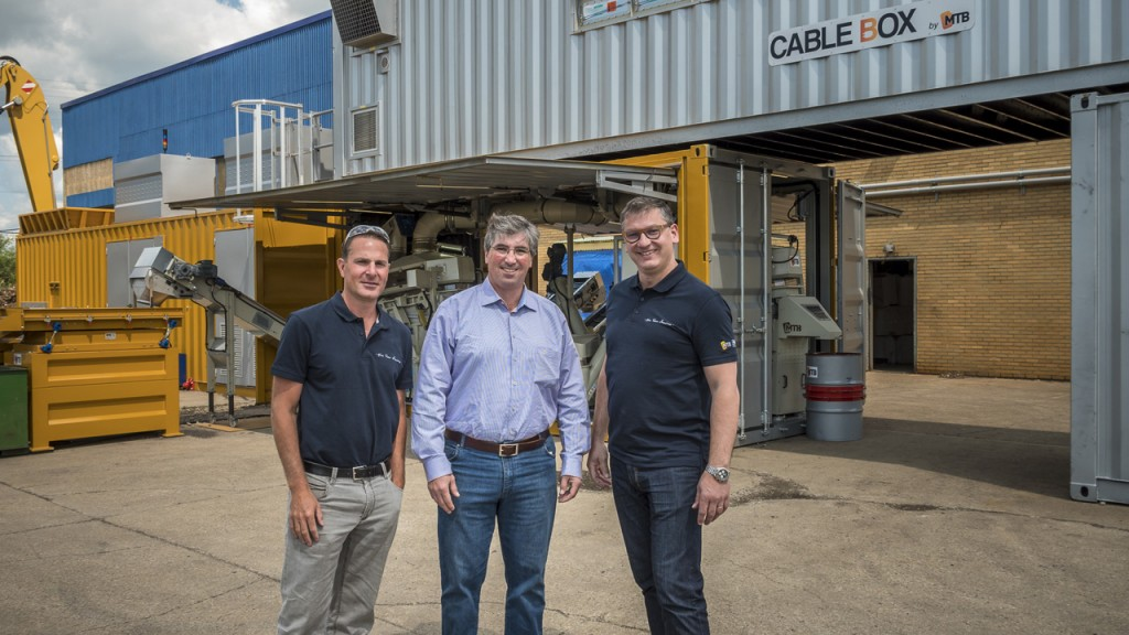 Cable recycling system draws interest and sales thanks to demos