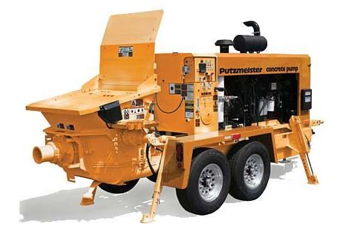 Putzmeister America Inc. - BSA 120-D Concrete Pumps