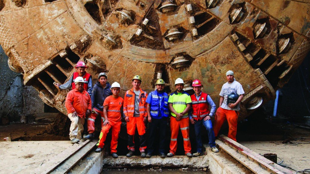 Mexico City's Record-Breaking Crossover TBM makes Final Breakthrough