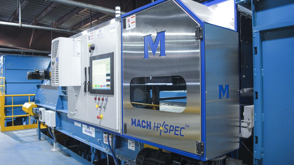 Charleston county awards new MRF contract to MACHINEX