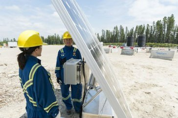 Methane detector pilot launched at Shell shale gas site