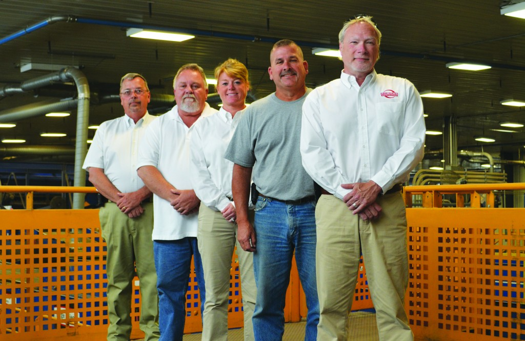 The safety team at Rumpke, Ohio.