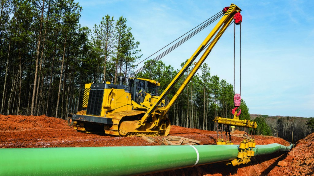 Purpose-built pipelayer-ready crawlers ready to lift