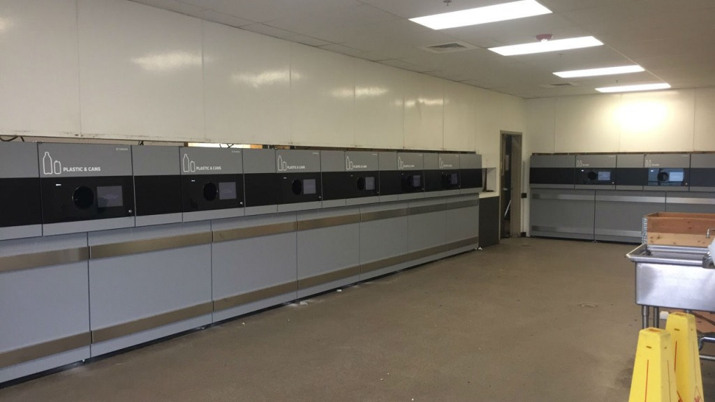 TOMRA Installs 500th T-90 reverse vending machine