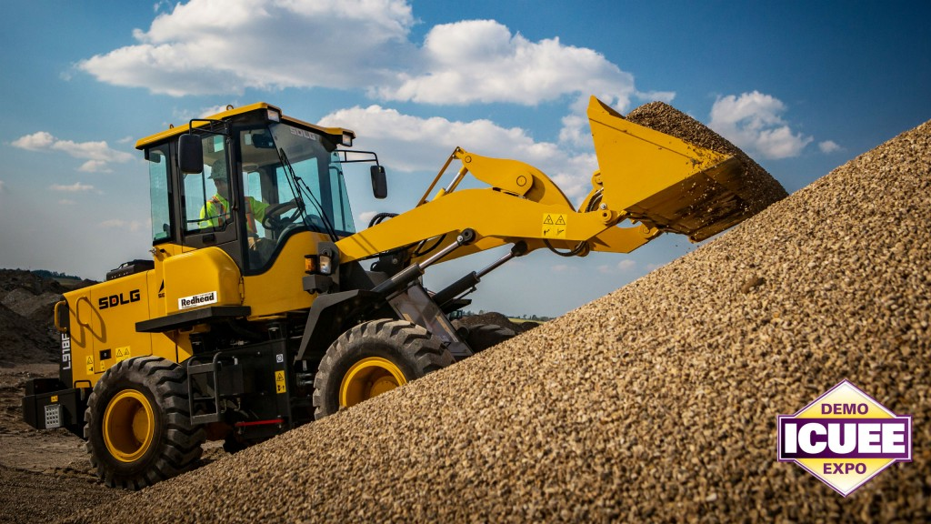 SDLG to display compact loaders at ICUEE