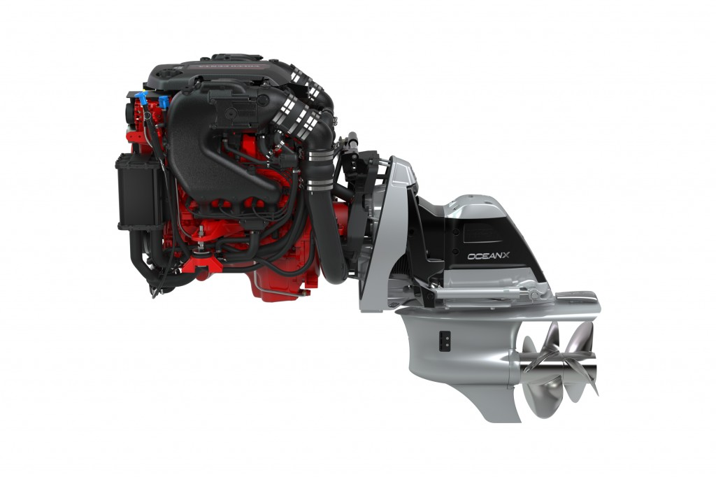 Volvo Penta of the Americas - Aquamatic Sterndrive V6-280-CE/OX Gas Engines