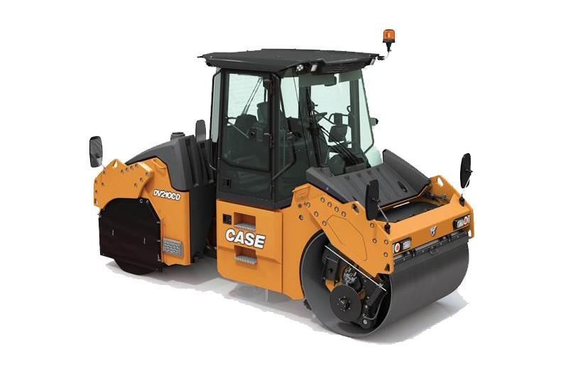 CASE Construction Equipment - DV210CD Combination Vibratory Rollers