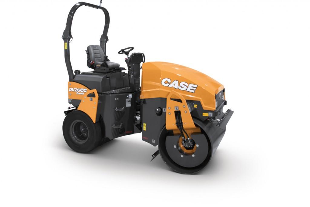 CASE Construction Equipment - DV26CC Combination Vibratory Rollers