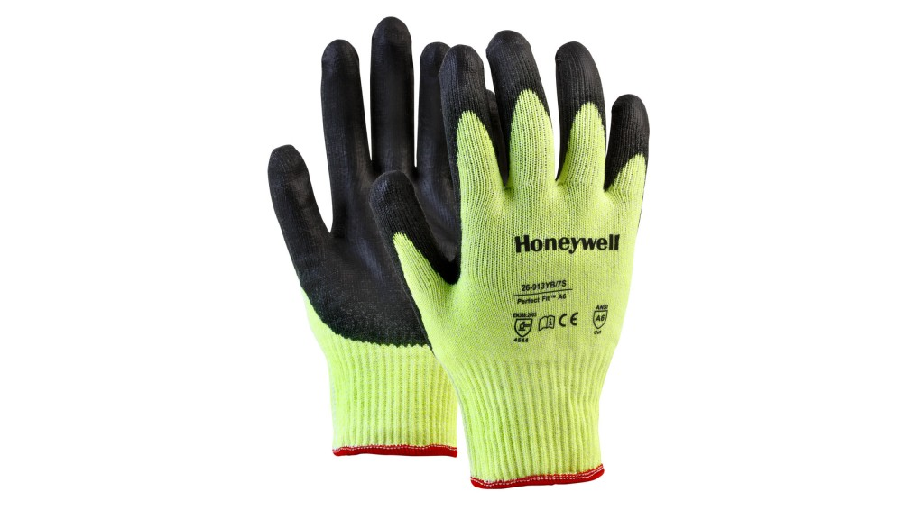 Cut-resistant gloves for hazardous working environments