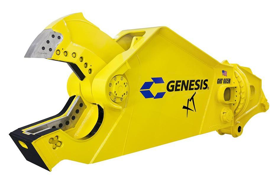 Genesis Attachments, LLC - XT Mobile Shear - GXT Hydraulic Scrap Shears