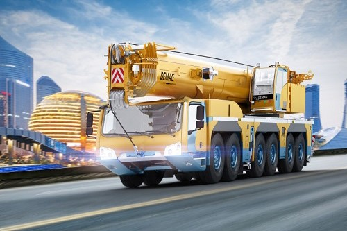 Terex Corporation - AC 300-6 All Terrain Cranes