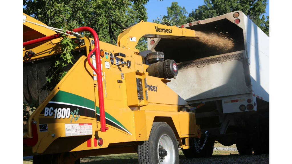 Vermeer offers brush chipper with gas engine