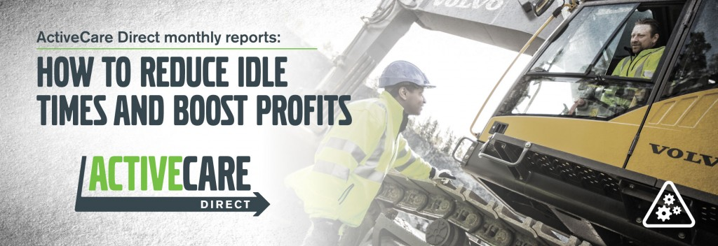 ActiveCare Direct monthly reports: How to reduce machine idle times and boost profits