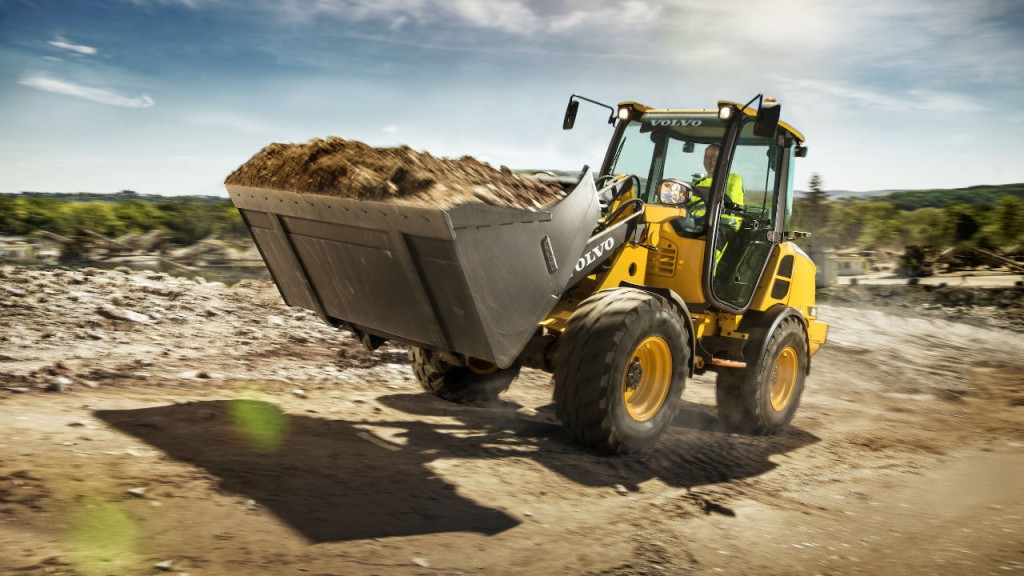 Volvo debuts L20H and L25H compact wheel loaders at  ICUEE 2017