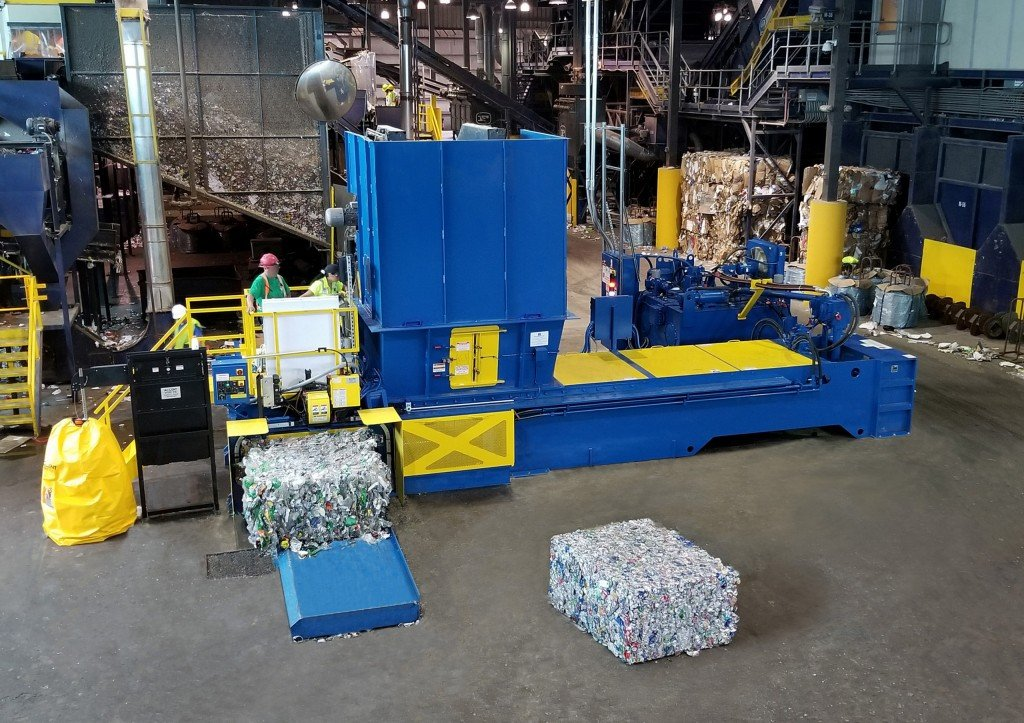 Two-ram balers – rising star of recycling - Recycling