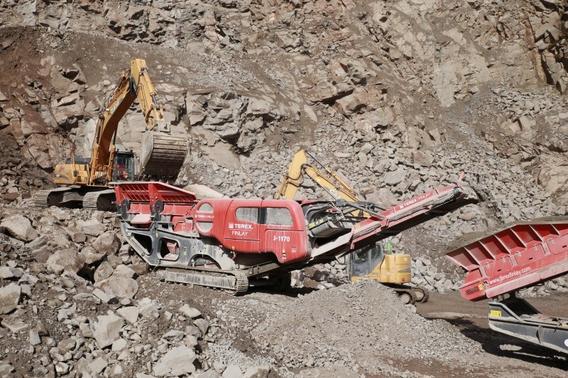 Terex Finlay - J-1170 Direct Drive Track Mounted Jaw Crushers