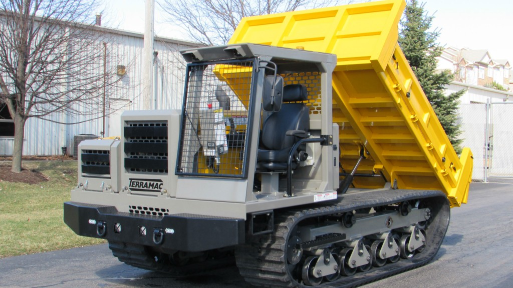Compact crawler carrier debuts at ICUEE