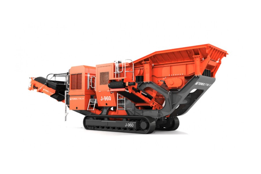 Terex Finlay - J-960 Track Mounted Jaw Crushers