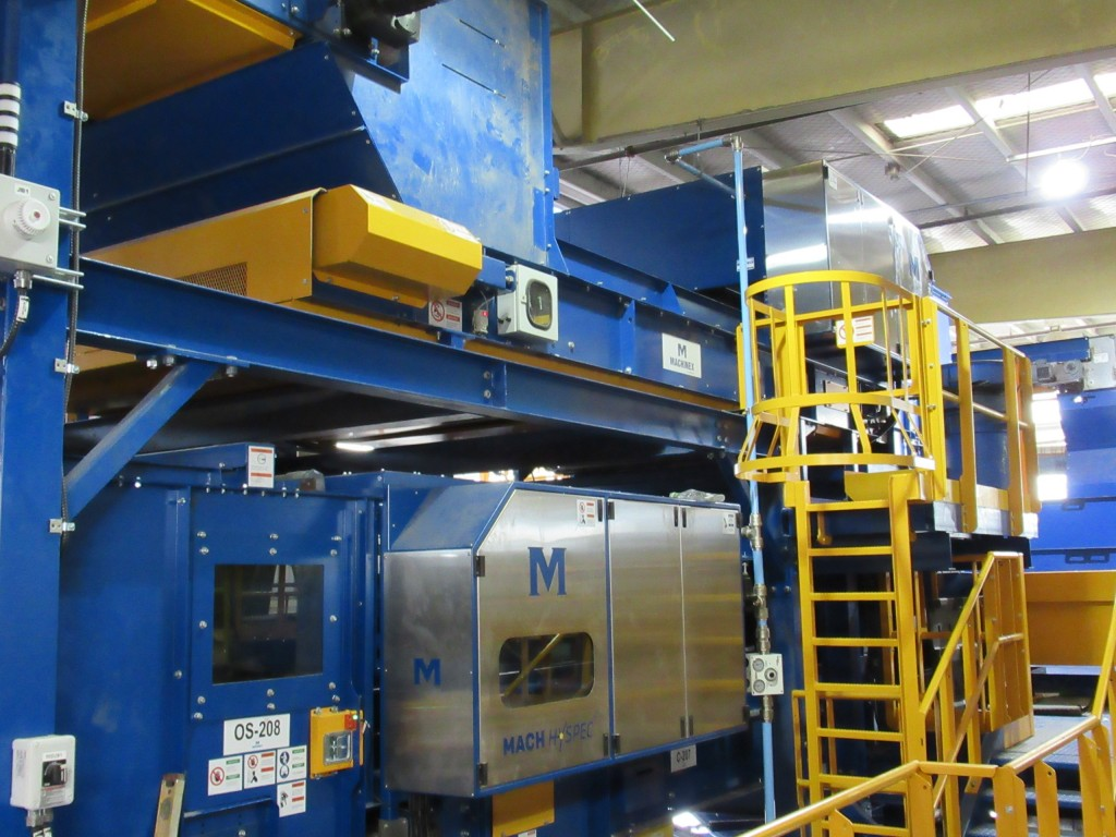 Boulder County upgrades MRF with Machinex optical sorters