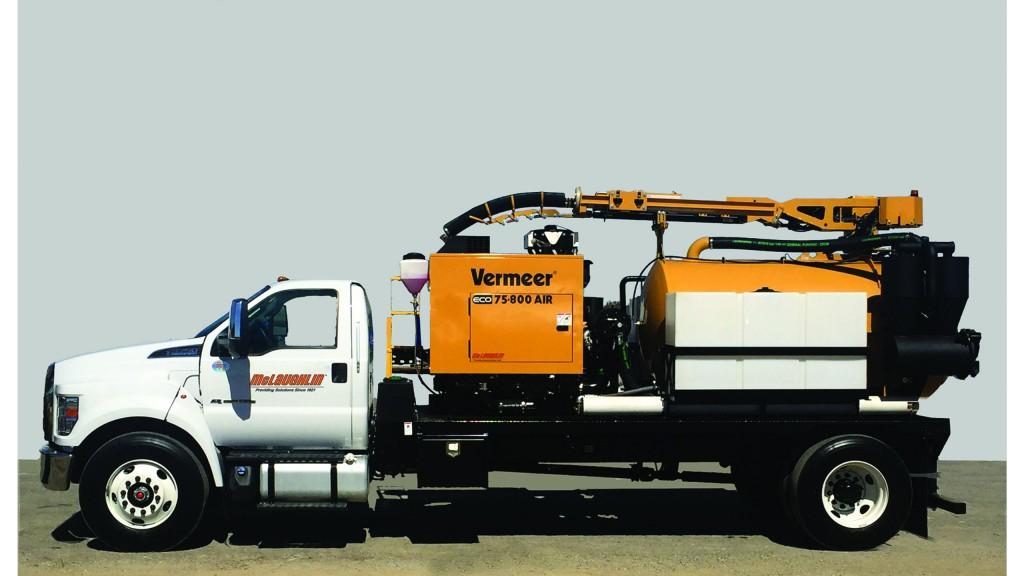 McLaughlin adds new vacuum excavators for utility market