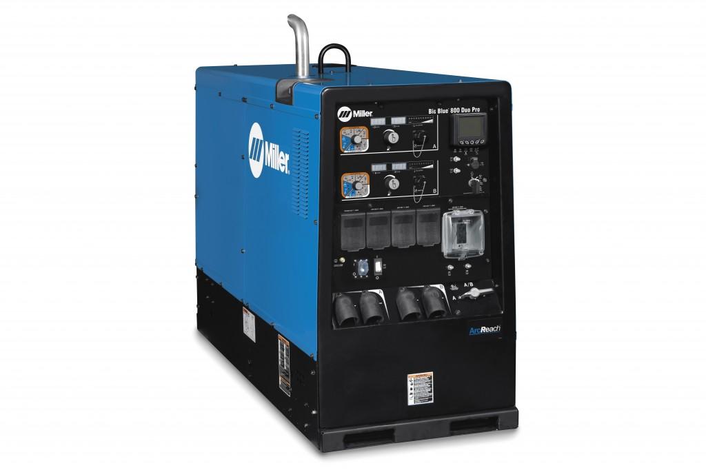 Miller Electric Mfg. LLC. - Big Blue® 800 Duo Pro Welding