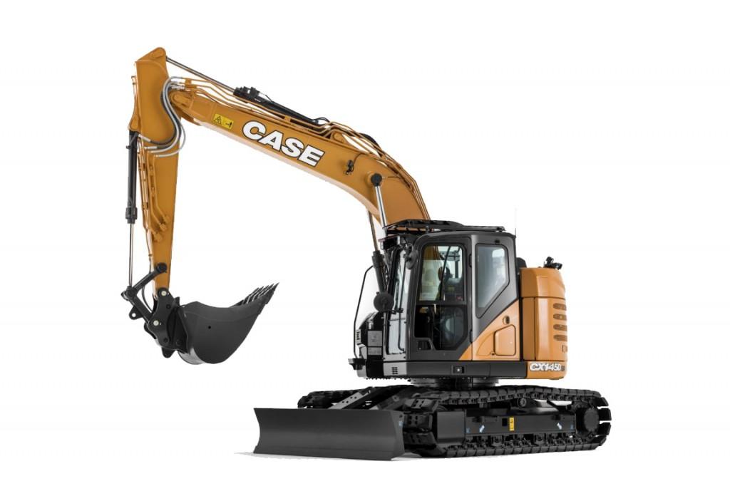 Case Construction Equipment - CX145D SR Excavators