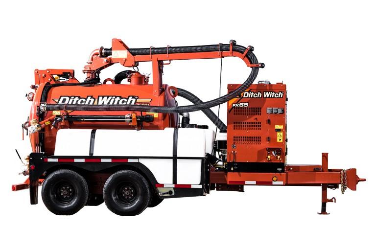 Ditch Witch - FX65 Vacuum Excavators