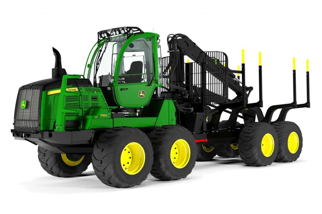 John Deere Construction & Forestry - 1110G Forestry Forwarders