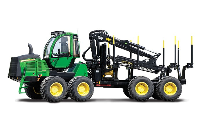 John Deere Construction & Forestry - 1510G Forestry Forwarders