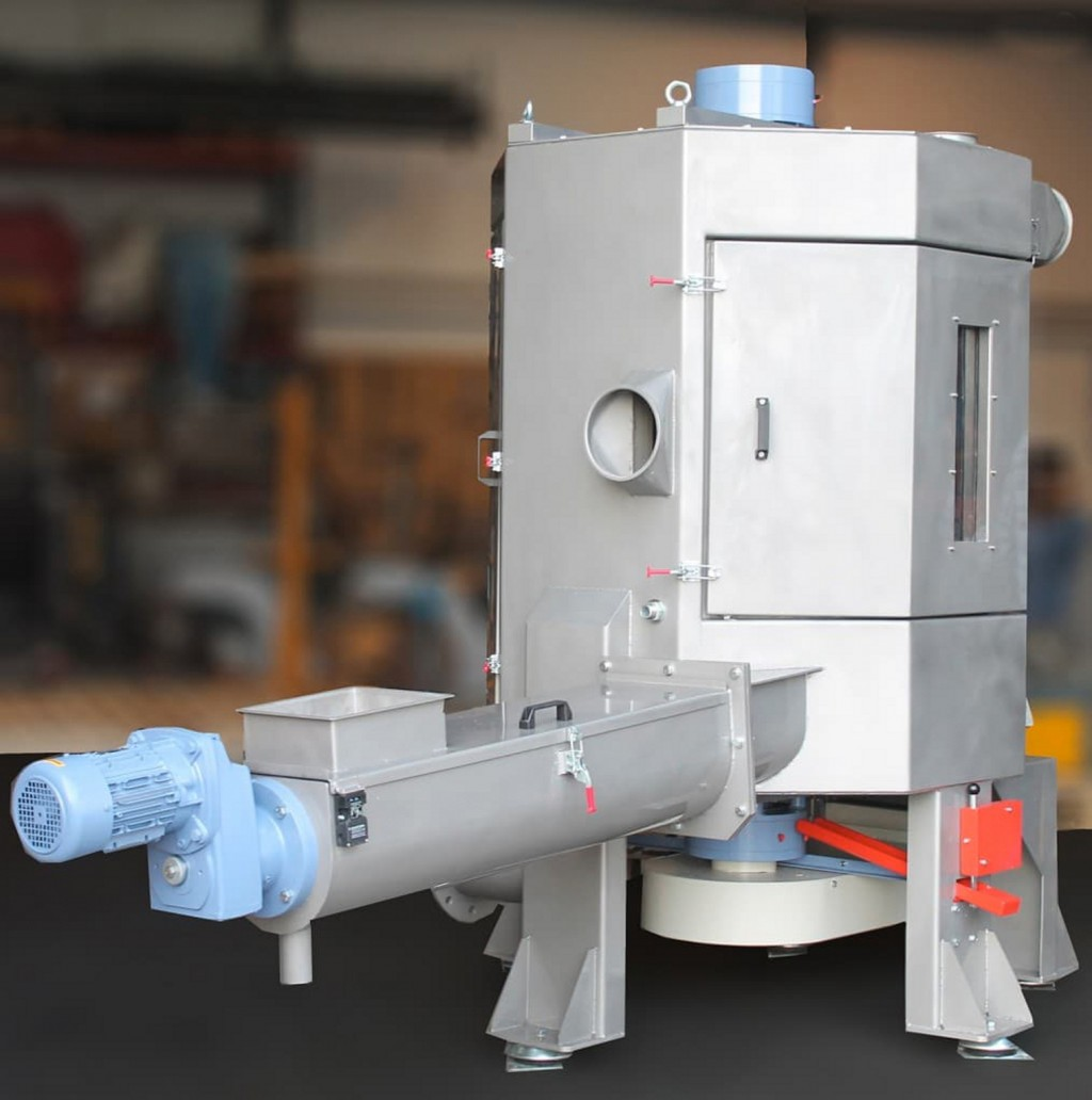 Hvt Centrifigal Dryer Saves Energy For Plastics Recyclers