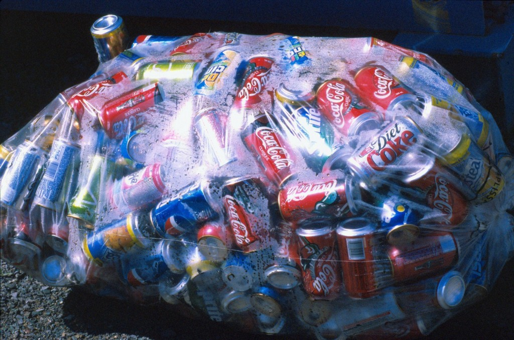 Aluminum cans most recycled drinks package in the world