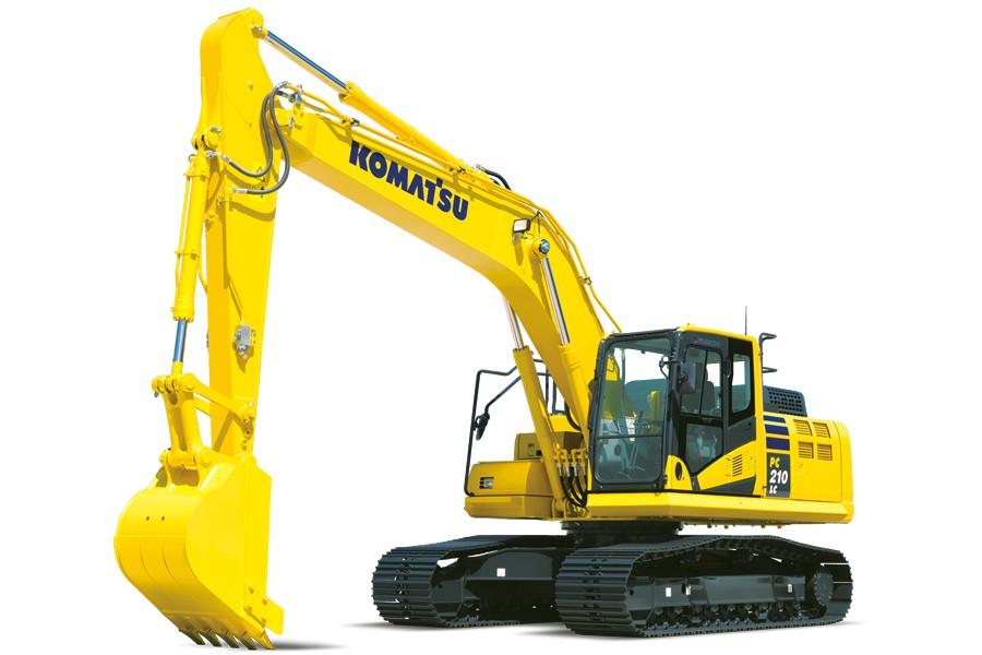 Komatsu America Corp. - PC210LCi-11 Excavators