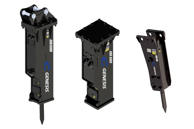 Genesis Attachments, LLC - GHB Series Hydraulic Breakers