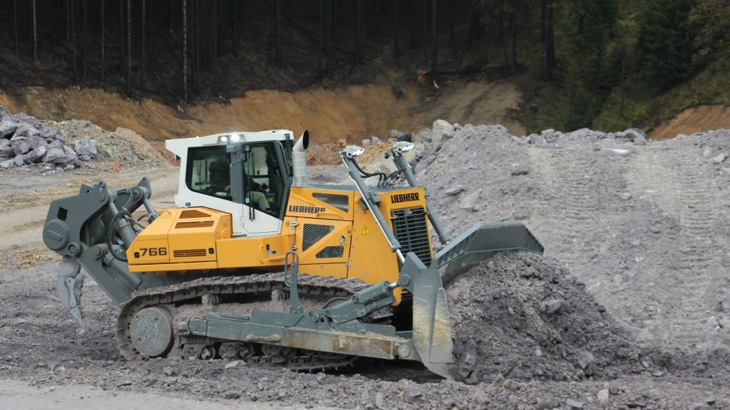Liebherr introduces PR 766 50 tonne dozer