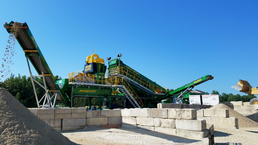 McCloskey Washing Systems find foothold in North American aggregates operations