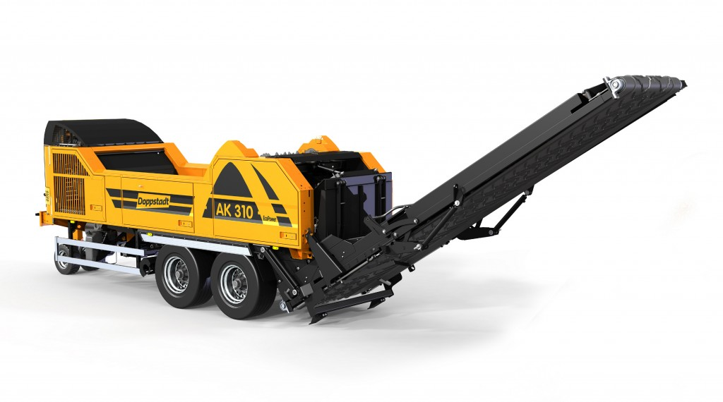 Smallest shredder in Doppstadt's AK range now offers greater power and drop height