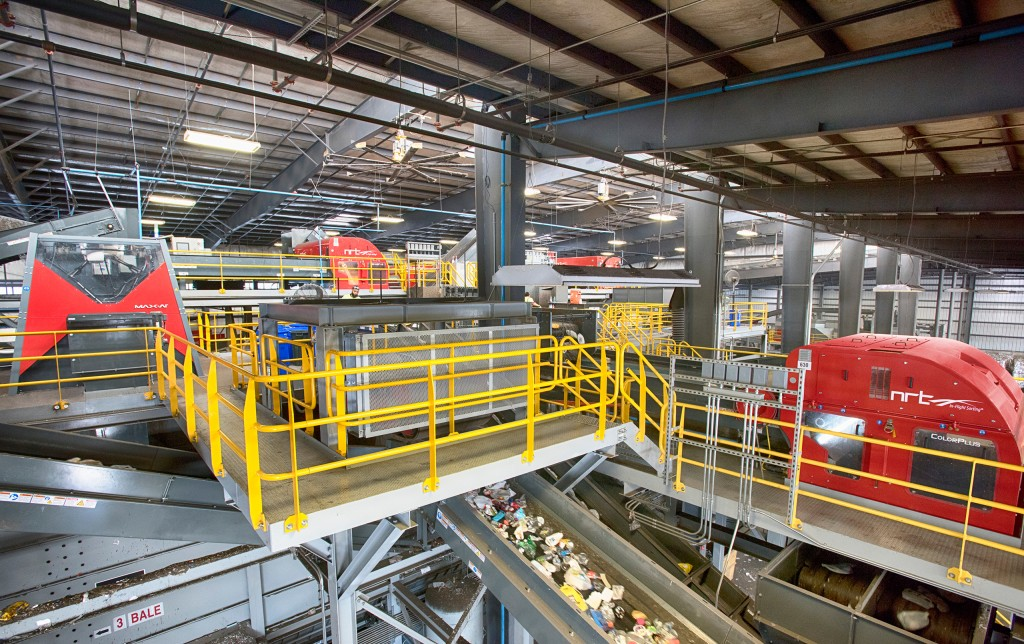 Penn Waste debuts upgraded MRF - Recycling Product News