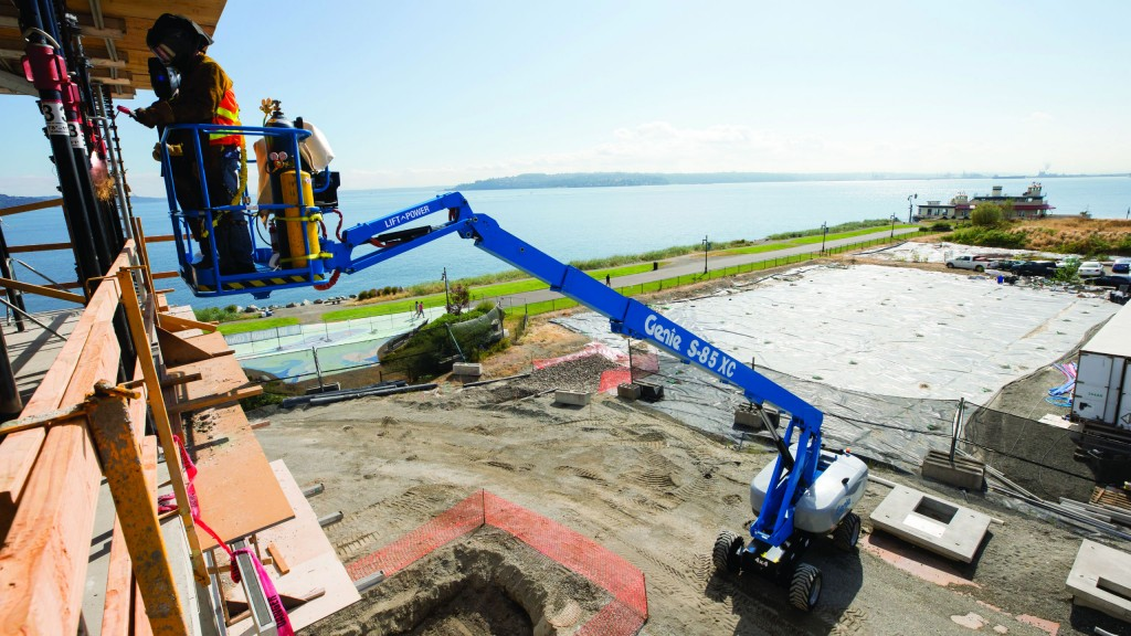 Genie Lift Power system improves power options for boom