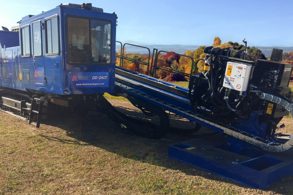 American Augers - DD-240T Horizontal Directional Drills