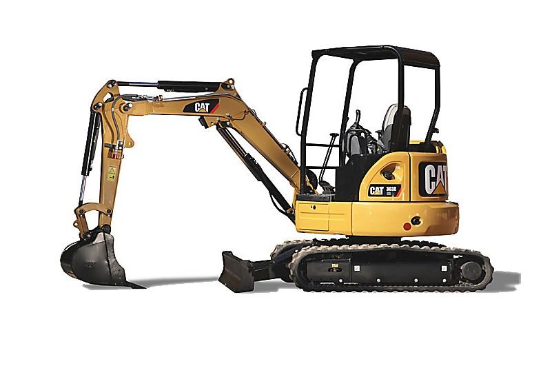 Caterpillar Inc. - 303E CR Mini Excavators
