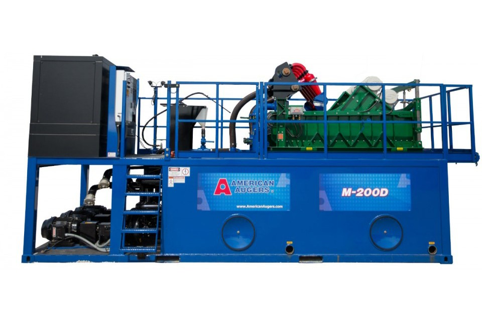 American Augers - M-200D Mud Systems