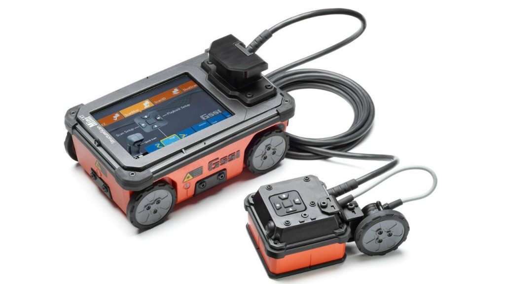 Latest in ground penetrating radar on display at World of Concrete